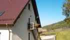 Tylne wejście do pensjonatu Monte Negro